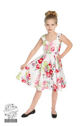 Kids Rose Paradise Swing Dress