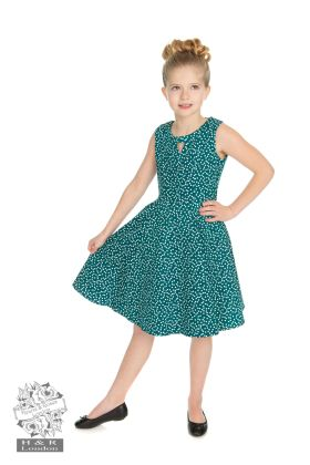 Kids La Rosa Dotty Swing Dress