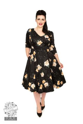 Midnight Stardust Swing Dress Plus Size
